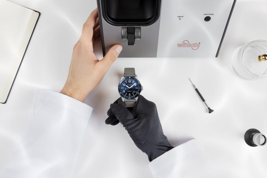 CHECKING YOUR WATCH FOR WATER-RESISTANCE